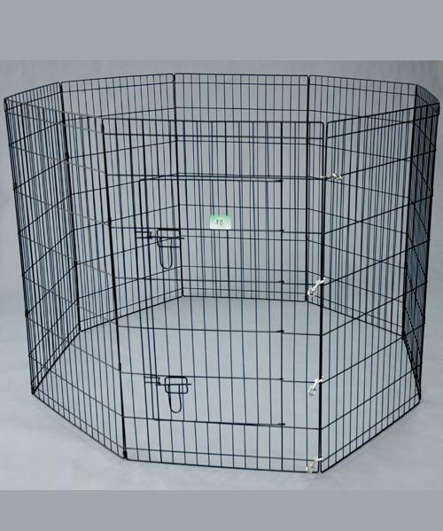 宠物钢丝围栏 YD008B黑塑