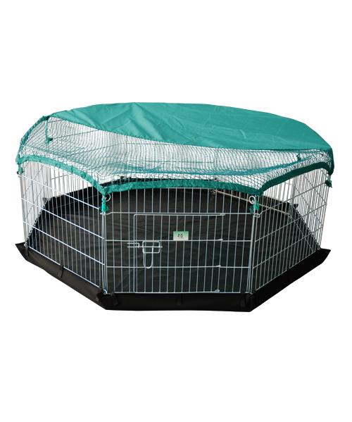 宠物钢丝围栏 YD009(8片)含网和防水底