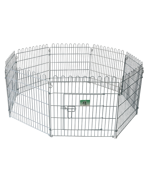 宠物钢丝围栏 YD009(8片)镀锌